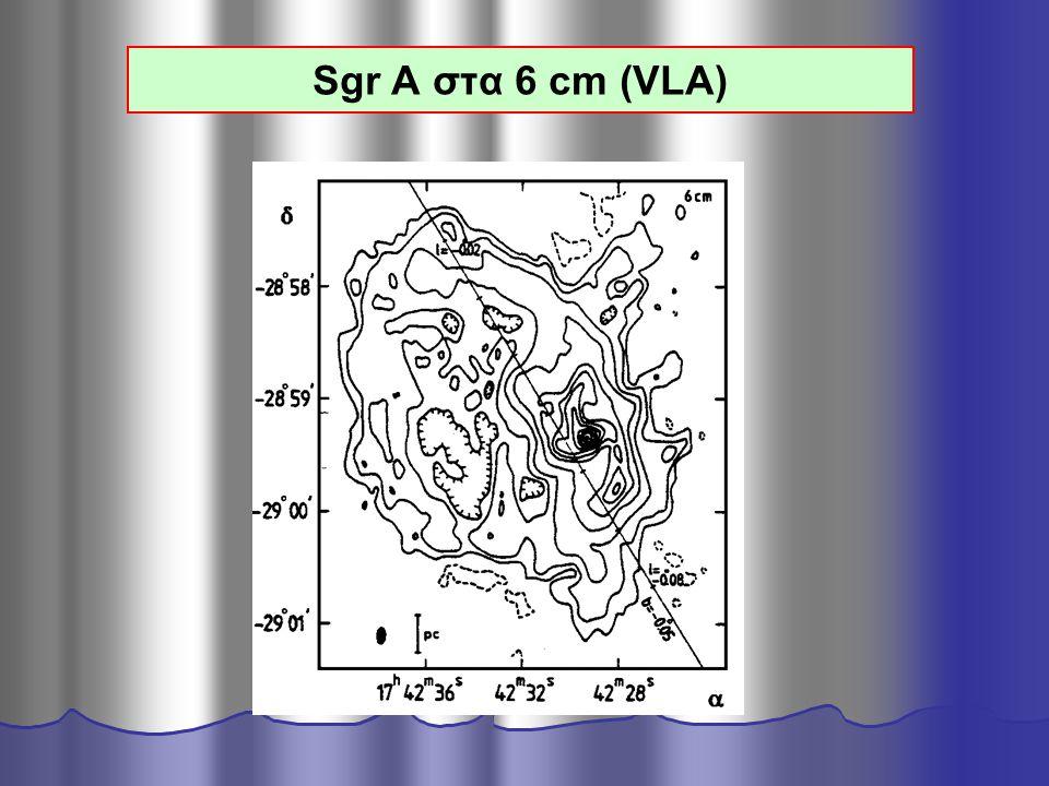 Sgr A στα 6 cm (VLA)