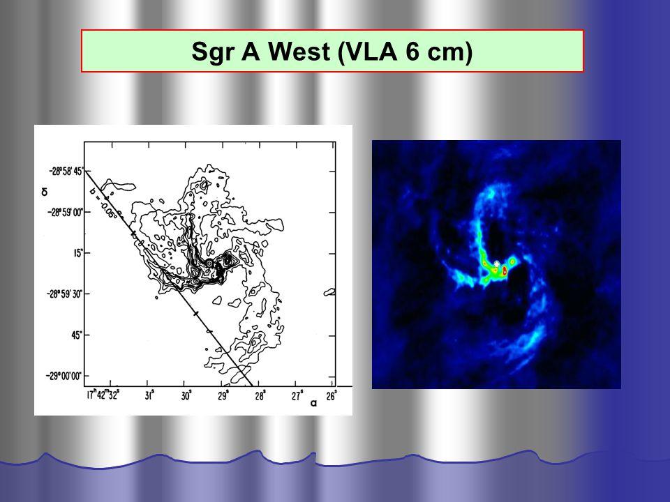 Sgr A West (VLA 6 cm)
