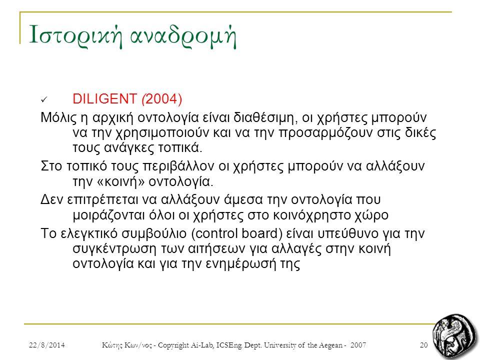 2022/8/2014 Κώτης Κων/νος - Copyright Ai-Lab, ICSEng.