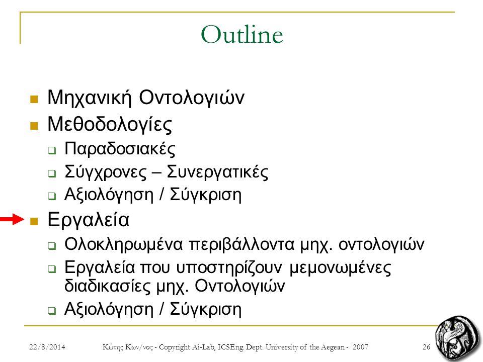 2622/8/2014 Κώτης Κων/νος - Copyright Ai-Lab, ICSEng.