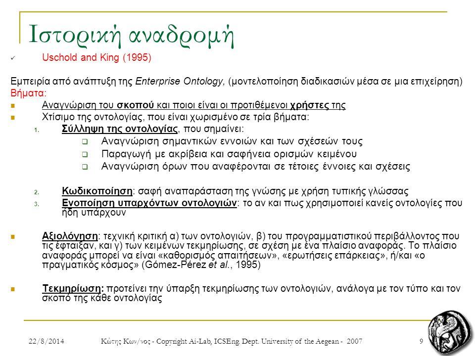 1022/8/2014 Κώτης Κων/νος - Copyright Ai-Lab, ICSEng.