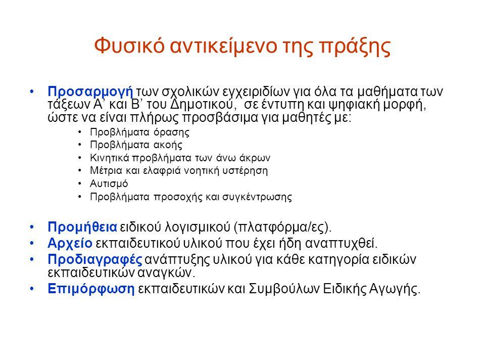 ΔΙΔΑΚΤΙΚΑ ΠΑΚΕΤΑ Α΄ και Β΄ ΤΑΞΗΣ ΔΗΜΟΤΙΚΟΥ