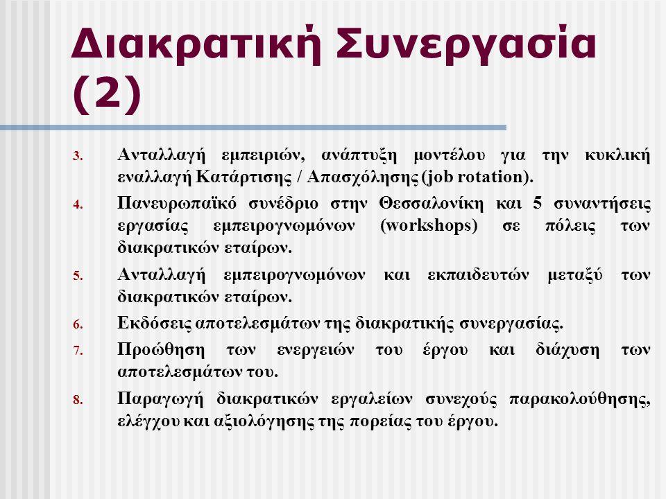 Διακρατική Συνεργασία (2) 3.