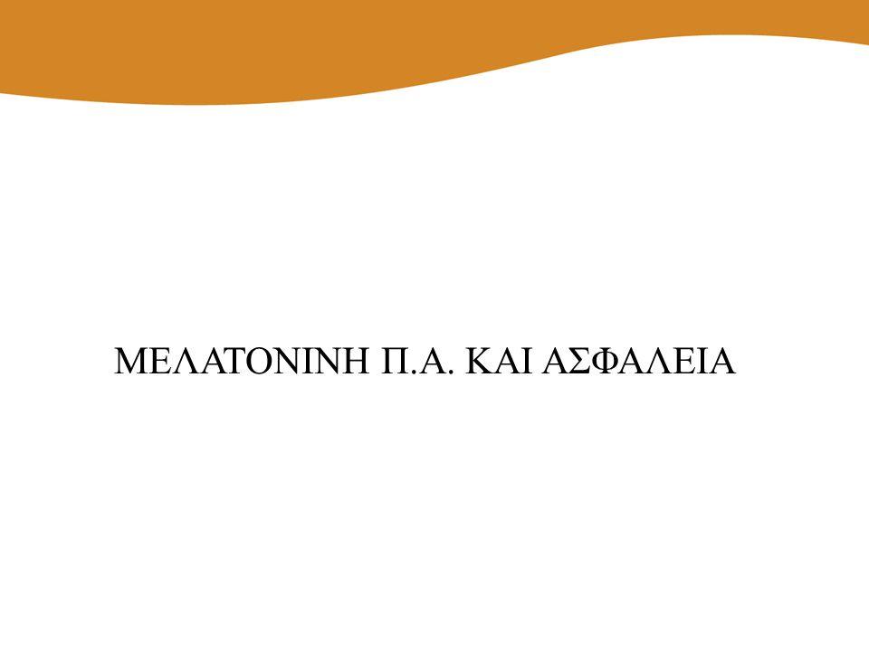 ΜΕΛΑΤΟΝΙΝΗ Π.Α. ΚΑΙ ΑΣΦΑΛΕΙΑ