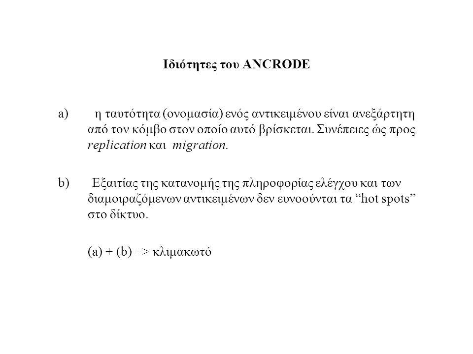 Delete(Α) από έναν κόμβο y Εξεταζεται αν υπάρχει κάποια τριπλέτα της μορφής (A,y,-). Αν όχι η διαδικασία ολοκληρώνεται. Σε αντίθετη περίπτωση διαγράφε