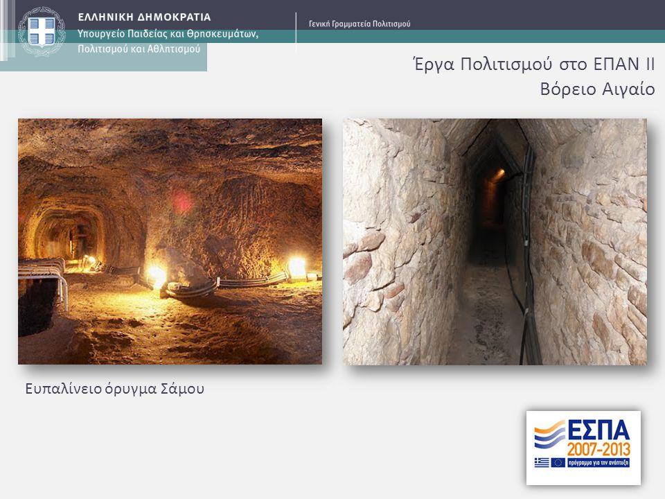 Επιθαλάσσιο τείχος φρουρίου Χίου Έκθεση Μουσείου Αγ.