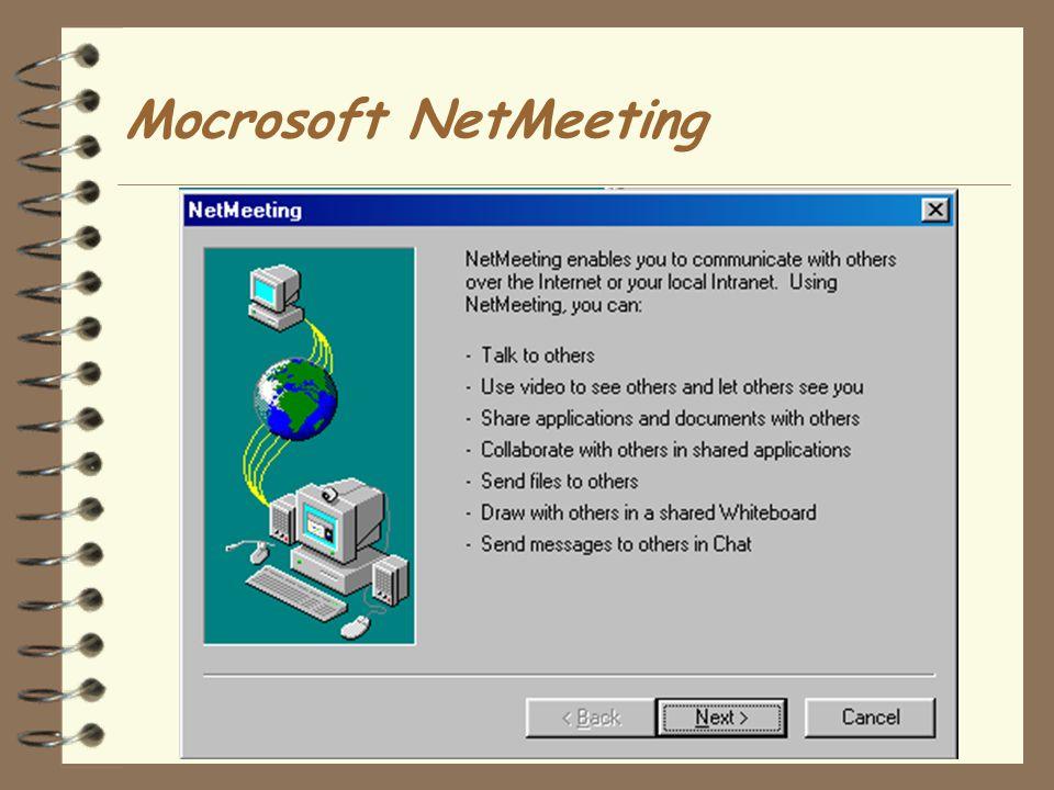 Mocrosoft NetMeeting