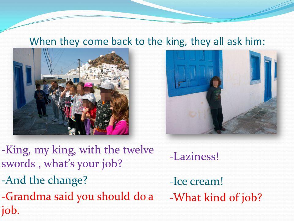 Τότε τα παιδιά αρχίζουν να μιμούνται τα επαγγέλματα που διαλέξανε.
