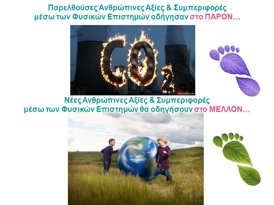 Παρελθούσες Ανθρώπινες Αξίες & Συμπεριφορές μέσω των Φυσικών Επιστημών οδήγησαν στο ΠΑΡΟΝ… Νέες Ανθρώπινες Αξίες & Συμπεριφορές μέσω των Φυσικών Επιστημών θα οδηγήσουν στο ΜΕΛΛΟΝ…