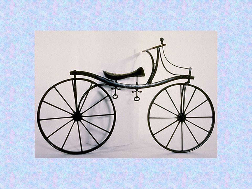 Τα ποδήλατα με πετάλια εμφανίστηκαν για πρώτη φορά το 1865.