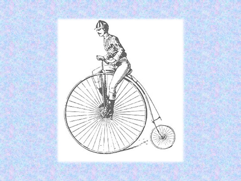 Στη δεκαετία του 1880 προστέθηκε η αλυσίδα, για τη μετάδοση της κίνησης στην πίσω ρόδα και τα λάστιχα με αέρα.