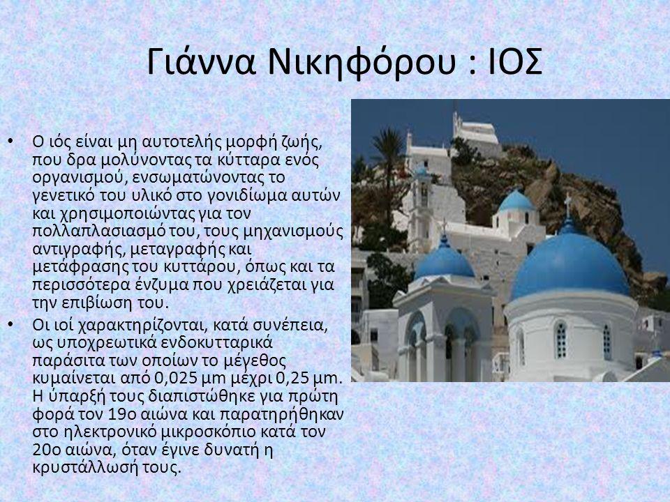 ΙΣΤΟΡΙΑ Η Ίος χαρακτηρίστηκε ως το «νησί του Ομήρου», από τον σπουδαίο επικό ποιητή Όμηρο, ο οποίος τον 8ο αιώνα π.χ.