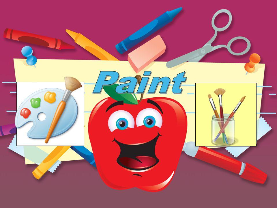 Πώς να βρω την «Paint» ; Start Programs