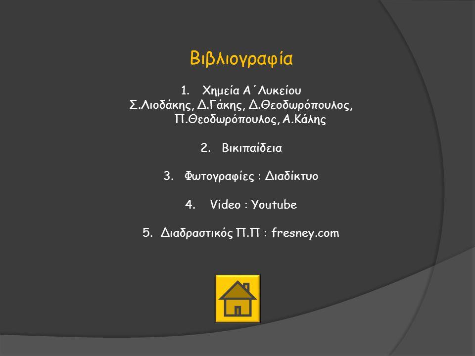 Χρήσιμες συνδέσεις Ο Ελληνικός Περιοδικός Πίνακας http:// www.ptable.com / Ο Περιοδικός Πίνακας των Videoς (των στοιχείων) http :// www.periodicvideos