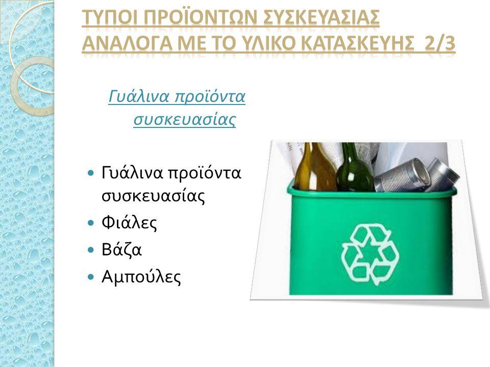 Γυάλινα προϊόντα συσκευασίας Φιάλες Βάζα Αμπούλες