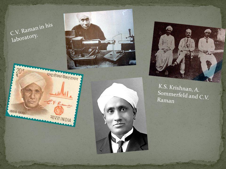 Ημερομηνία Γέννησης: 7 Νοεμβρίου 1888 Τόπος Γέννησης: Τιρουτσιράπαλι, Ινδία Πατέρας: R.