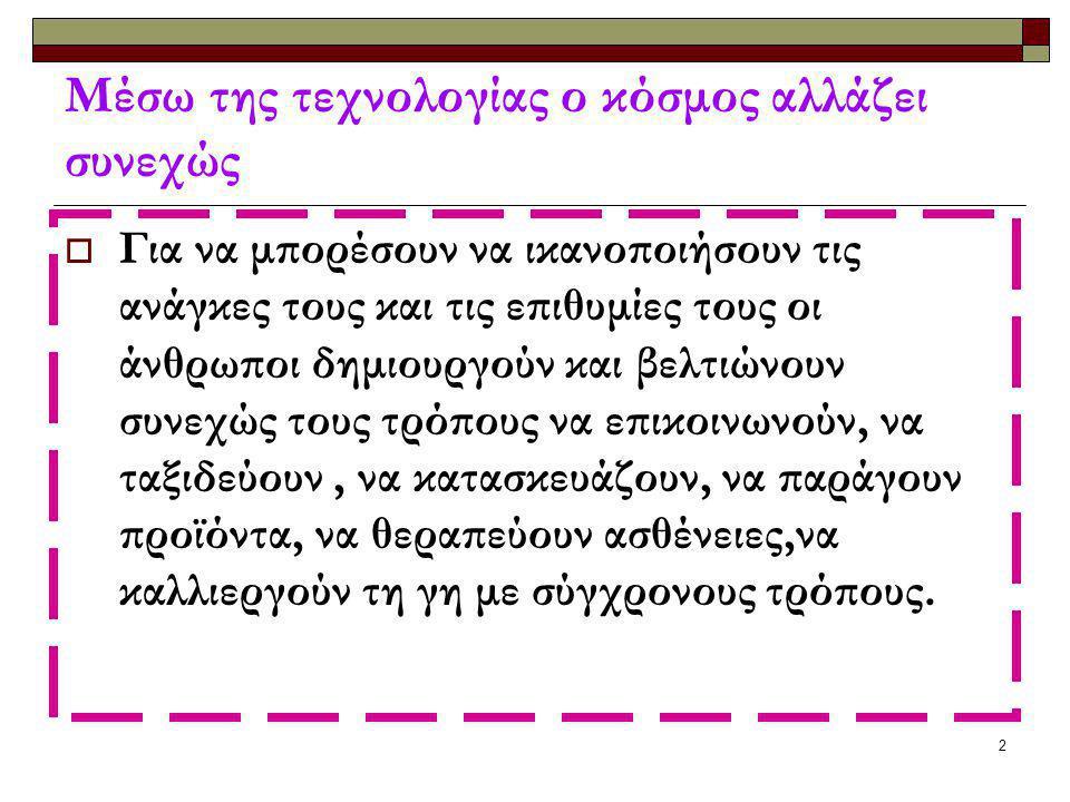Παπαδοπούλου Άννα(από το βιβλίο τεχνολογίας Α΄ΗΛΙΑΔΗΣ-ΒΟΥΤΣΙΝΟΣ) 1 εισαγωγή