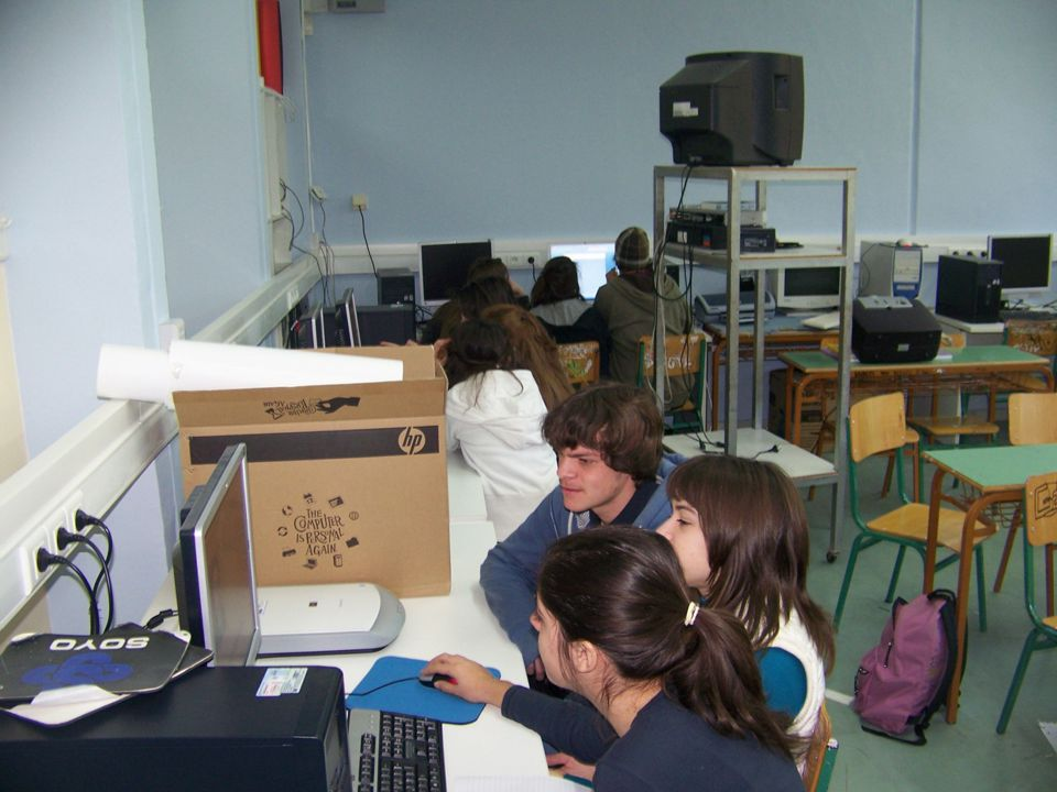 Αριθμός μαθητών:18, χωρισμένων σε 6 ομάδες των 3 Μέθοδος: ομαδοσυνεργατική * Μορφή διδασκαλίας: κατευθυνόμενη (σε πρώτη φάση) & μαθητοκεντρική (στη συνέχεια)