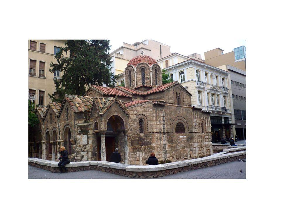 Αρχιτεκτονική Ο τρούλλος έχει όλα τα χαρακτηριστικά των λεγόμενων αθηναικών τρούλλων με μαρμάρινα τοξωτά γύσα και προέχουσες υδρορροές.