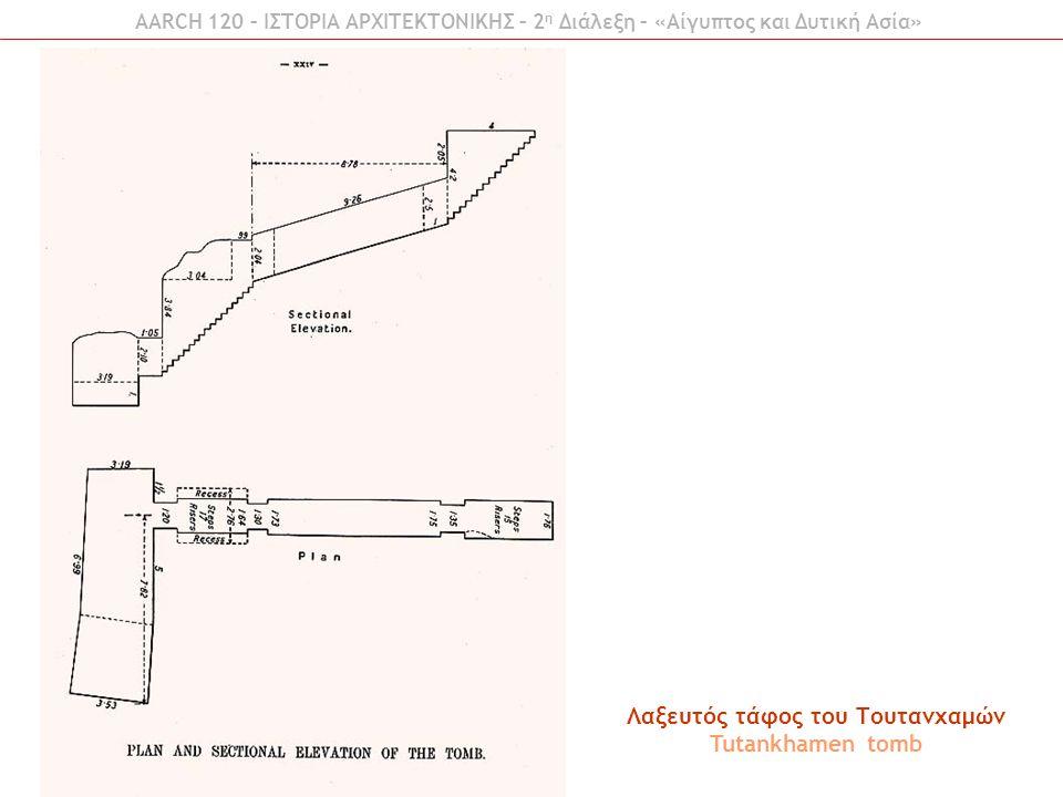 AARCH 120 – ΙΣΤΟΡΙΑ ΑΡΧΙΤΕΚΤΟΝΙΚΗΣ – 2 η Διάλεξη – «Αίγυπτος και Δυτική Ασία» Εργατικές κατοικίες της Αμάρνα Workers houses at Amarna