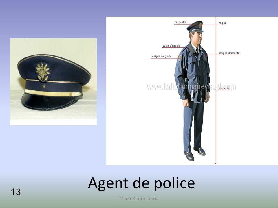 Maria Koundourou Agent de police 1313