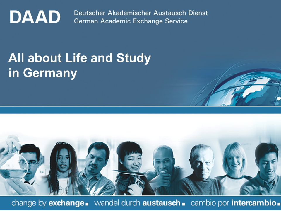 All about Life and Study in Germany