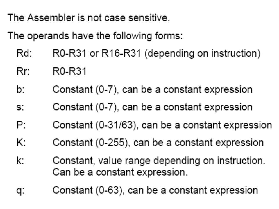 2.2) Functions 2.3) Operators