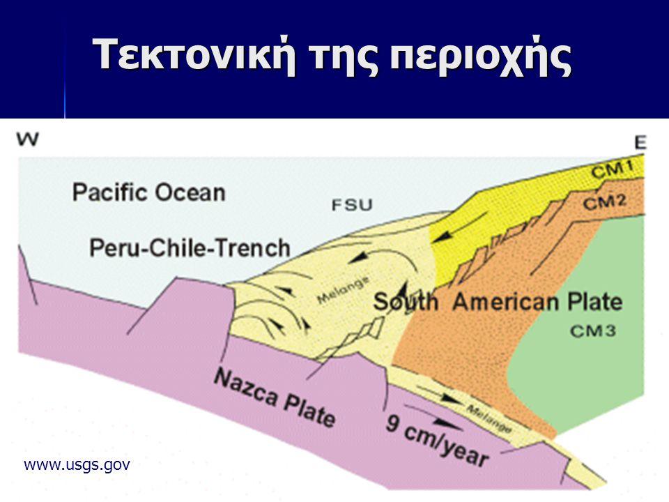 8 Τεκτονική της περιοχής www.usgs.gov
