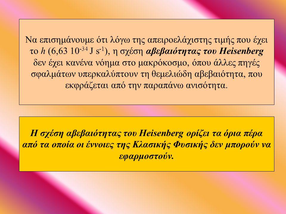 Ο Einstein, που ήταν ντετερμινιστής (αιτιοκρατία) εναντιώθηκε στην αρχή αβεβαιότητας: «Πιστεύετε σε ένα Θεό που παίζει ζάρια, ενώ εγώ σε πλήρη τάξη κα