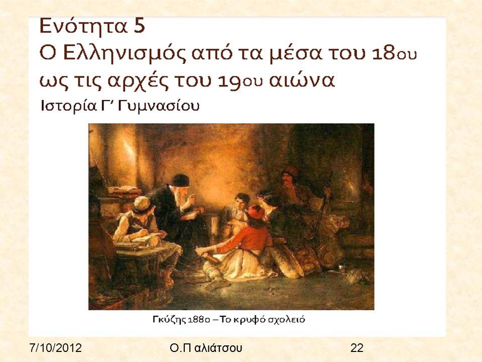 7/10/2012Ο.Π αλιάτσου22Ο.Π αλιάτσου