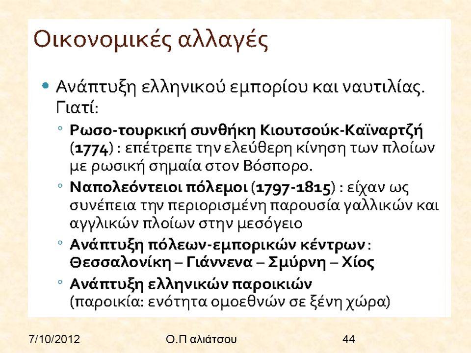 7/10/2012Ο.Π αλιάτσου44Ο.Π αλιάτσου