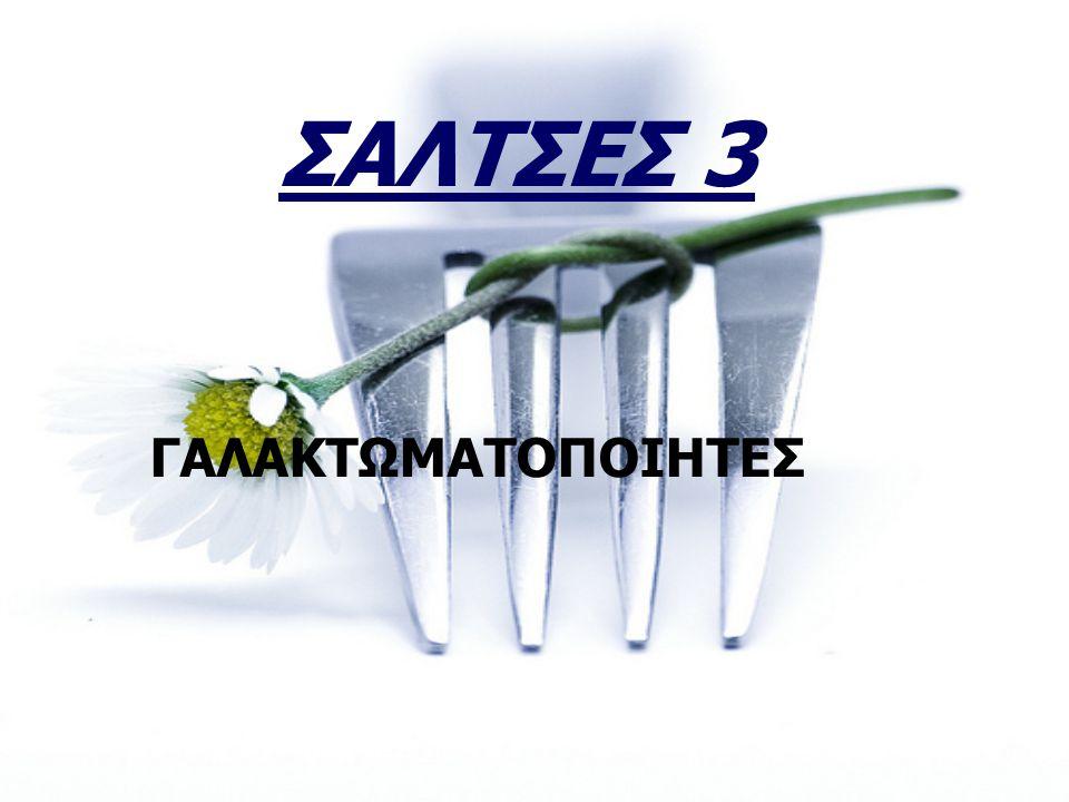 ΣΑΛΤΣΕΣ 3 ΓΑΛΑΚΤΩΜΑΤΟΠΟΙΗΤΕΣ