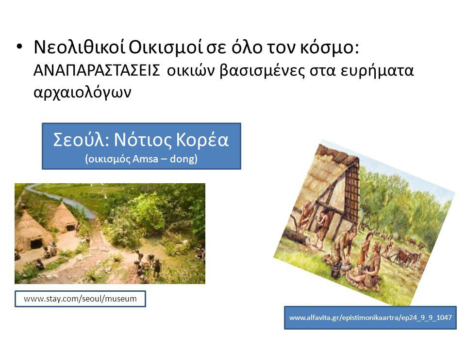 Νεολιθικοί Οικισμοί σε όλο τον κόσμο: ΑΝΑΠΑΡΑΣΤΑΣΕΙΣ οικιών βασισμένες στα ευρήματα αρχαιολόγων www.alfavita.gr/epistimonikaartra/ep24_9_9_1047 www.st
