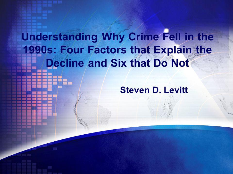 Τι πραγματεύεται το άρθρο Ο κ.Steven D.