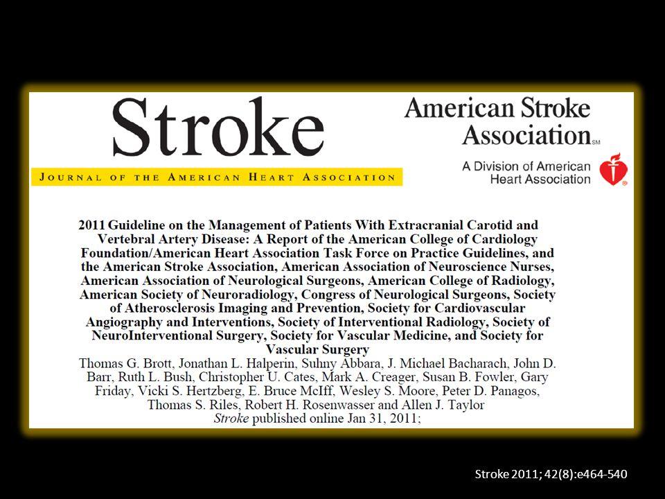 Stroke 2011; 42(8):e464-540