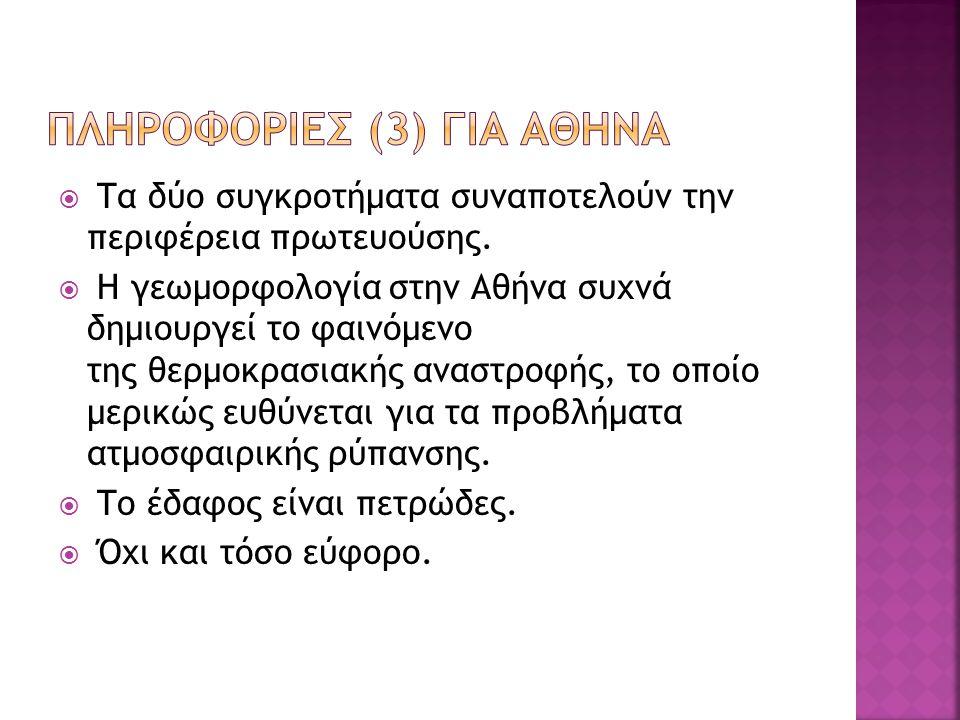  Εντούτοις, συχνή παραμένει η χρήση της γενικής πληθυντικού («Αθηνών»), ιδίως στον γραπτό ή επίσημο λόγο.  Πολιούχος των Αθηνών είναι ο Άγιος Διονύσ