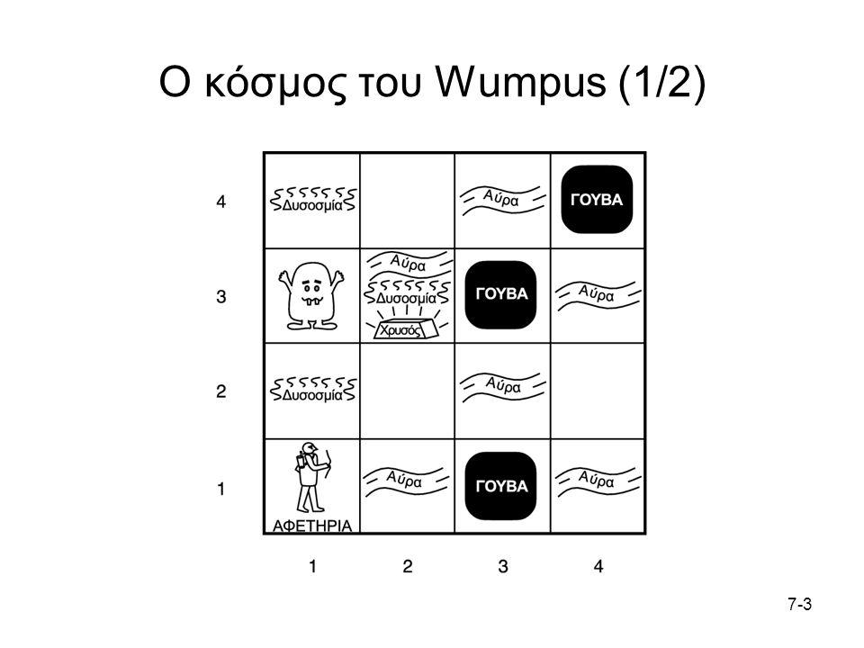 7-37-3 Ο κόσμος του Wumpus (1/2)