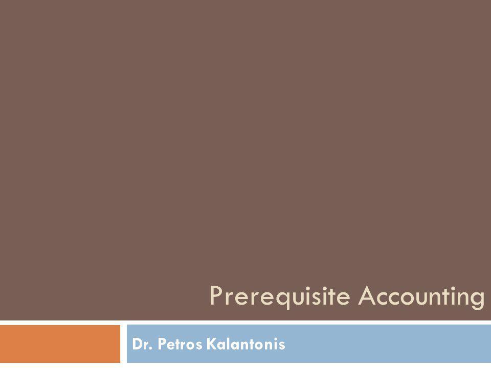 Διακρίσεις της Λογιστικής  Χρηματοοικονομική Λογιστική (Financial Accounting)  Διοικητική Λογιστική (Managing Accounting)  Λογιστική Κόστους (Cost Accounting)  Φορολογική Λογιστική (Tax Accounting)  Ελεγκτική (Auditing)