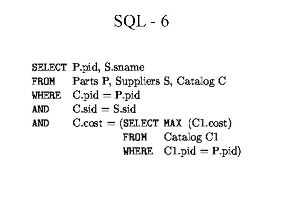 SQL - 6