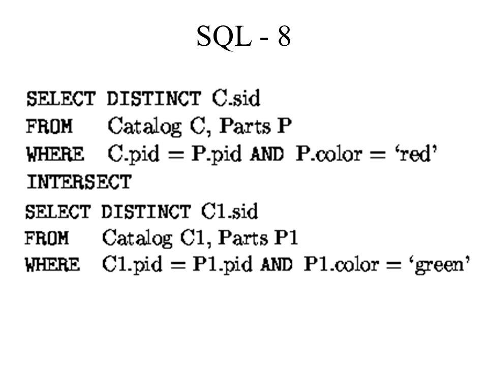 SQL - 8