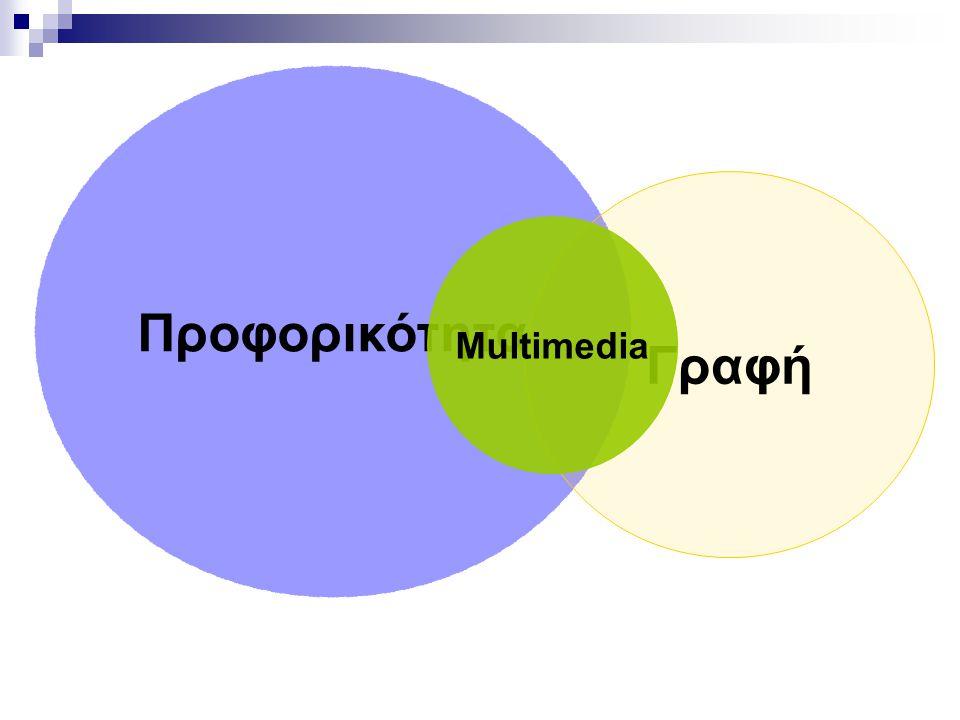 Προφορικότητα Γραφή Multimedia