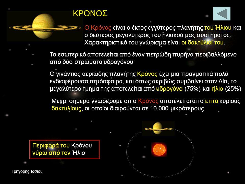 ΔΙΑΣ Ο Δίας είναι ο μεγαλύτερος πλανήτης του ηλιακού μας συστήματος με μάζα περίπου 320 φορές μεγαλύτερη από τη Γη και σώμα της ίδιας χημικής σύνθεσης