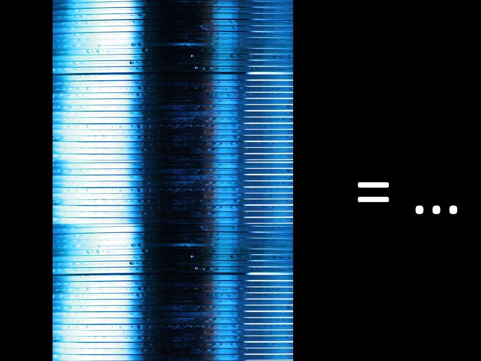 Αν ήταν μία στοίβα από CD θα ισοδυναμούσε με… = …