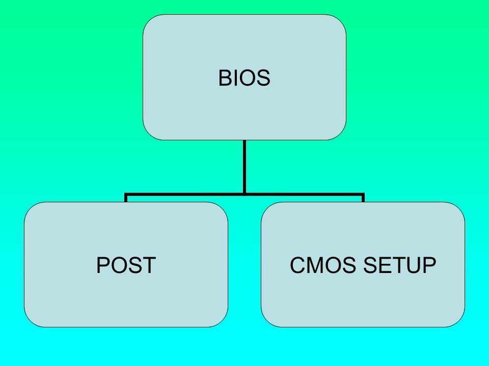 Το BIOS κατά την έναρξή του διενεργεί έναν έλεγχο του συστήματος, προκειμένου να εξασφαλιστεί ότι τα βασικά του υποσυστήματα (άρα και το ίδιο το σύστημα) είναι σε κατάσταση να λειτουργήσουν.