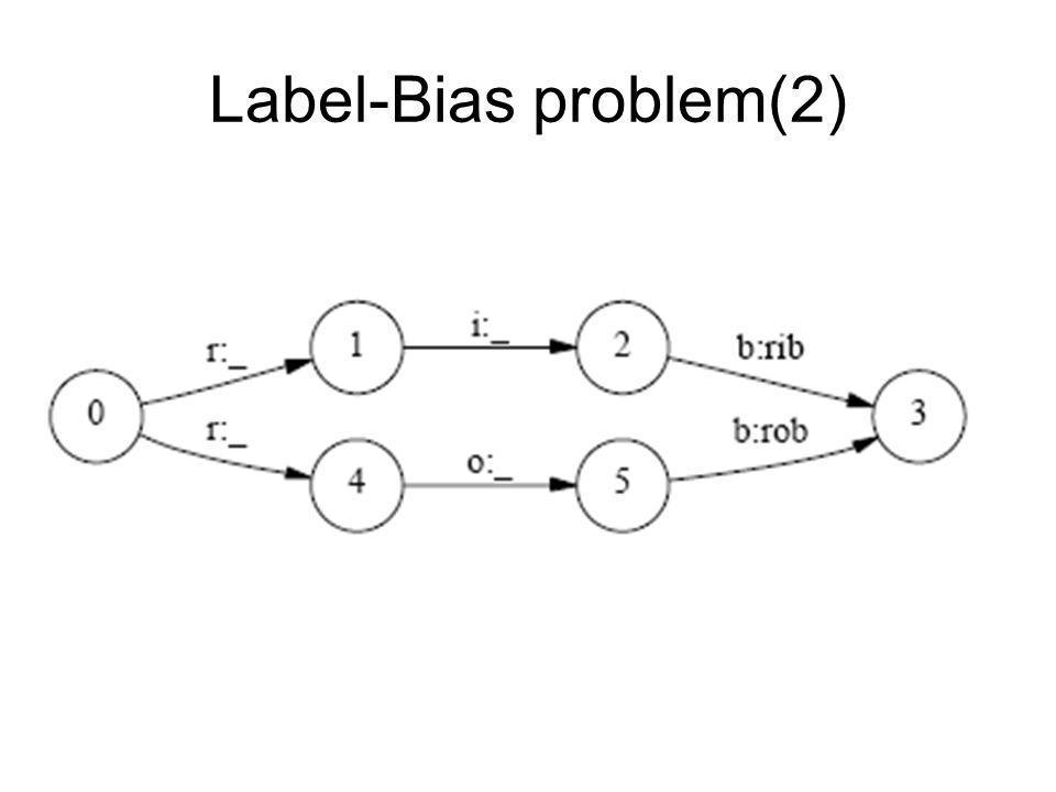 Label-Bias problem(2)