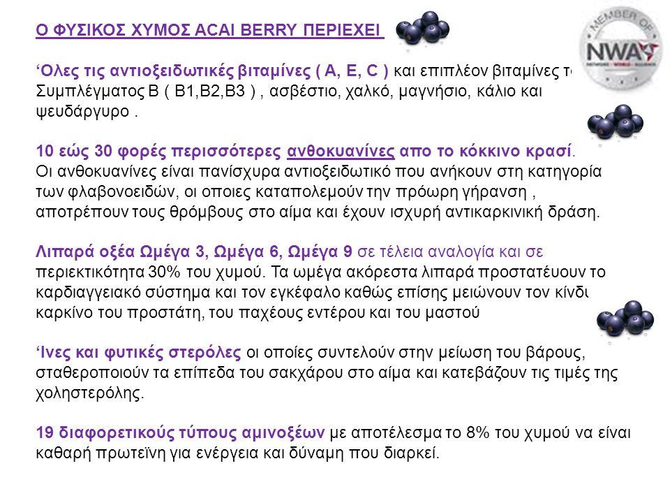 ΦΥΣΙΚΟΣ ΧΥΜΟΣ ACAI BERRY ΤΗΣ RE-VITA ΓΙΑ...