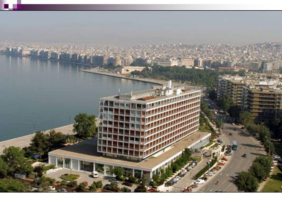 Άποψη Θεσσαλονίκης από το Θερμαϊκό κόλπο