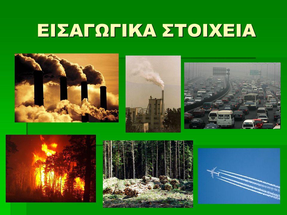  Οι ανθρώπινες δραστηριότητες επηρεάζουν το κλίμα !!.