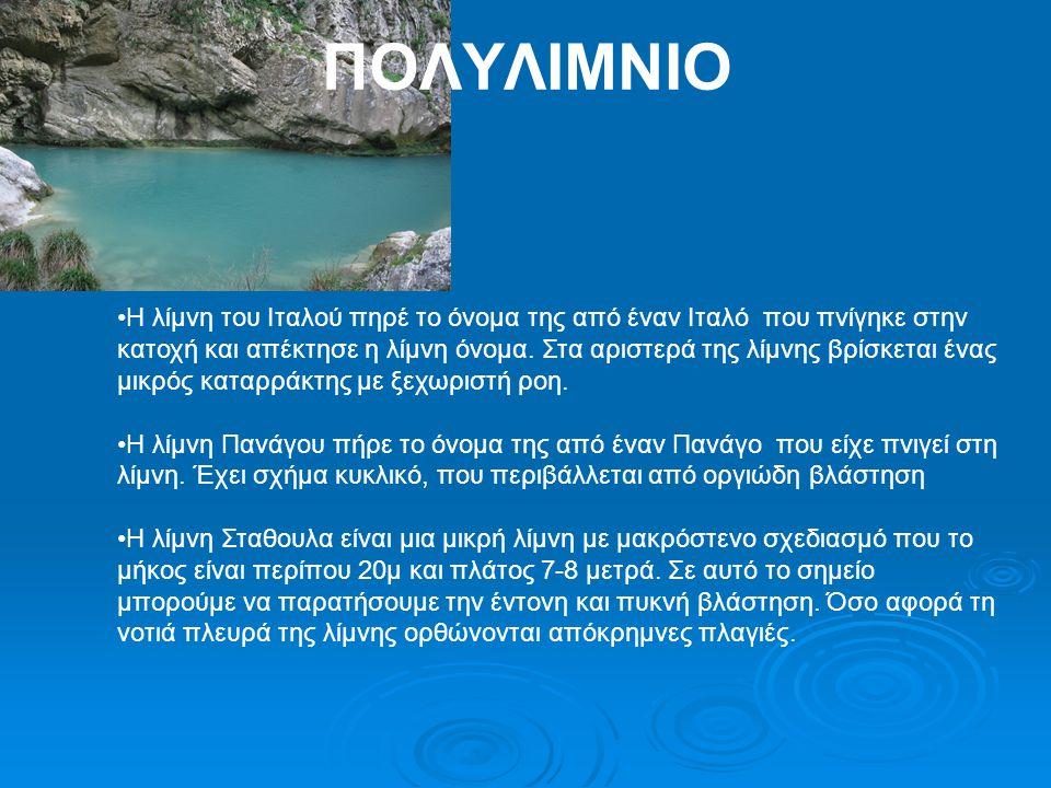 ΠΟΛΥΛΙΜΝΙΟ
