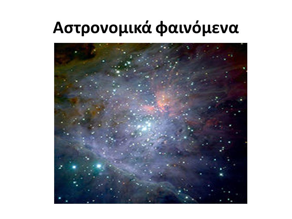 Αστρονομικά φαινόμενα